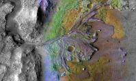 Le cratère de Mars où la NASA va chercher la vie en 2021