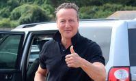 David Cameron, sous le soleil du Costa Rica et étranger à Brexit