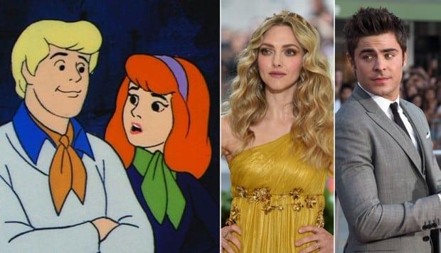 Scooby Doo Zac Efron Et Amanda Seyfried Seront Fred Et Daphne