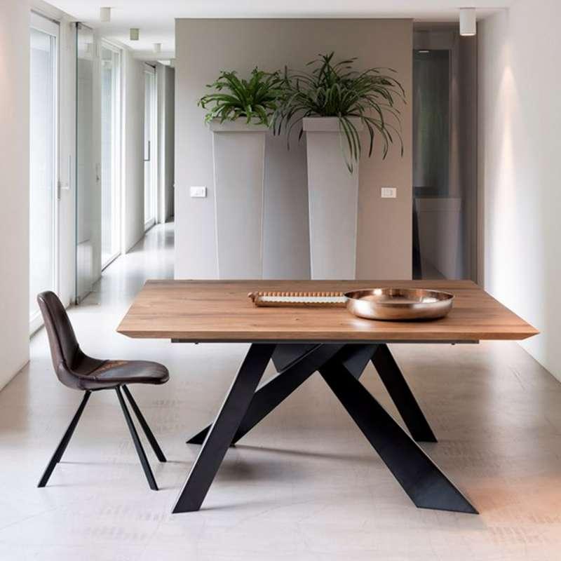 Envie de changer votre table en profitant de la promotion - Table salle a manger design pied central ...