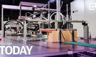 Amazon test la préparation des colis par des robots