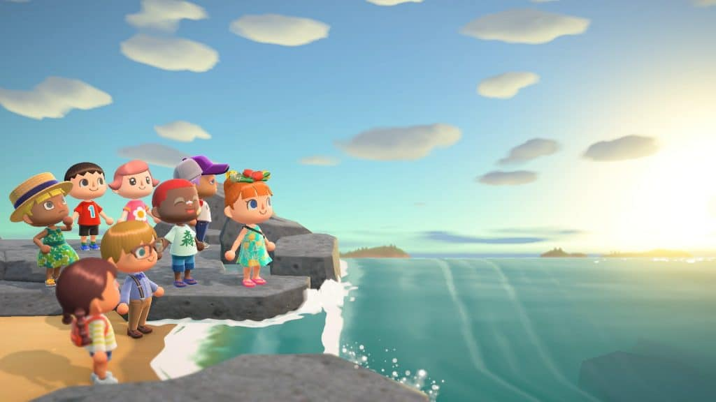Visuel officiel du jeu Animal Crossing New Horizons
