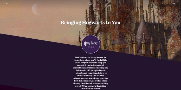 Harry Potter at Home : Un site à découvrir durant le confinement