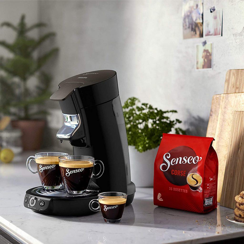 Philips HD6564/61 Machine à café à dosettes SENSEO Viva Café Duo : présentation