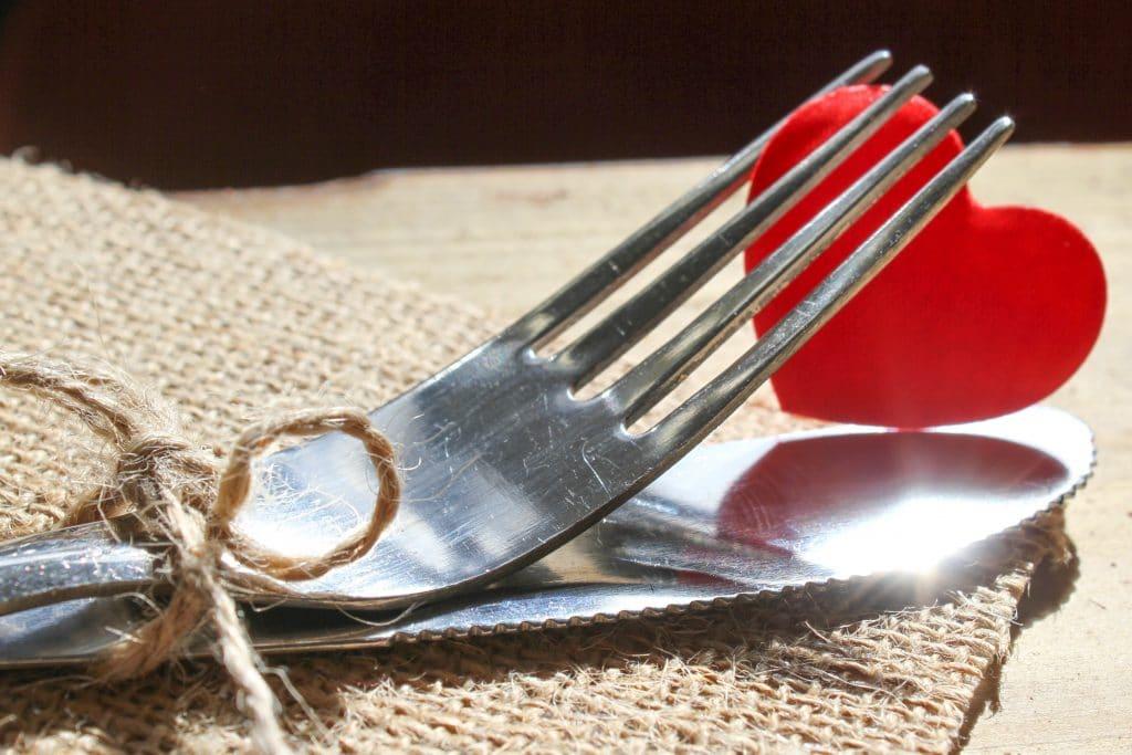 Préparer un repas romantique
