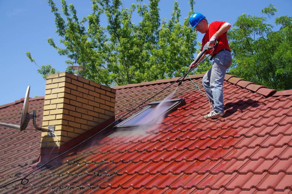 entretien toiture mousse