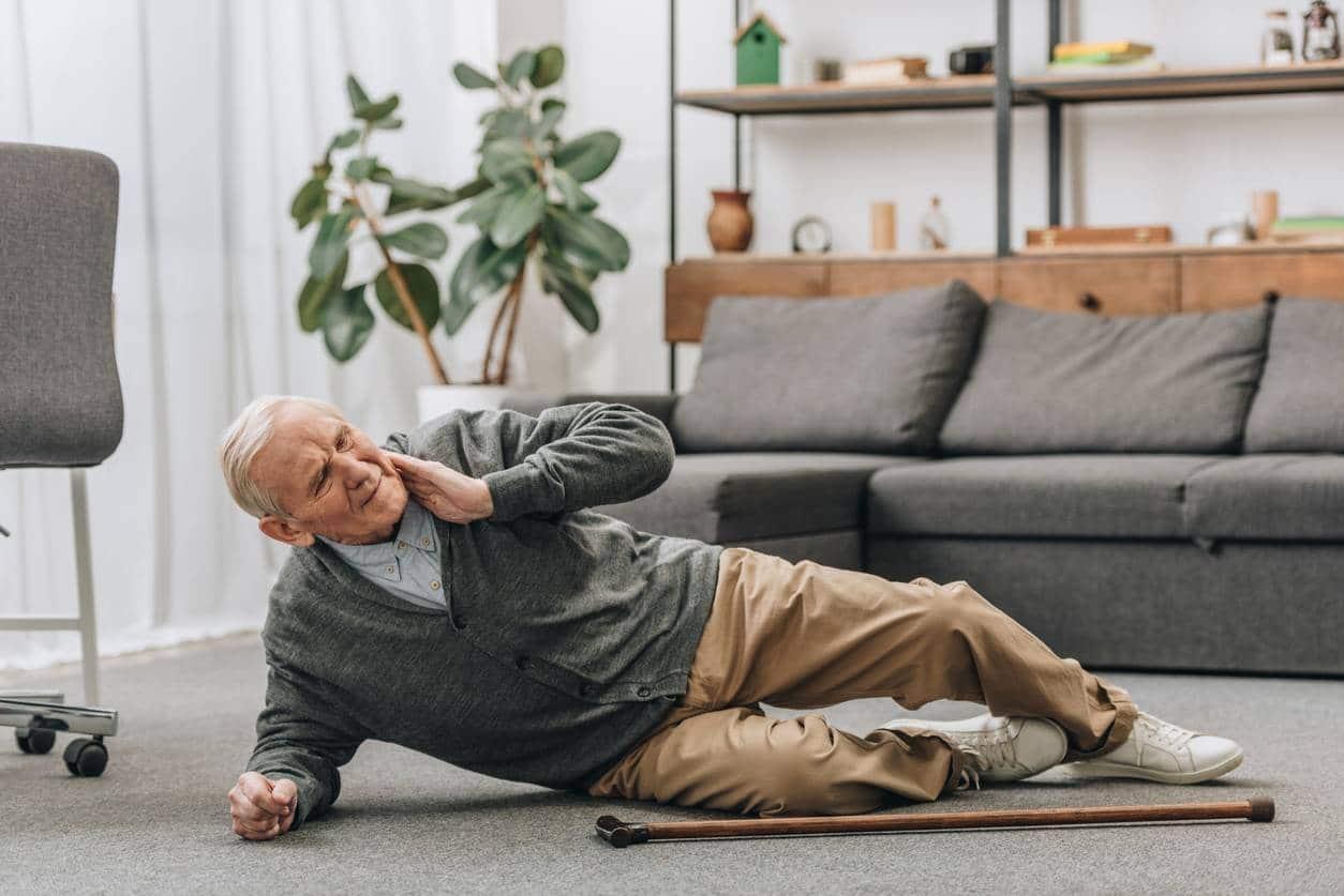 éviter les chutes dans une maison