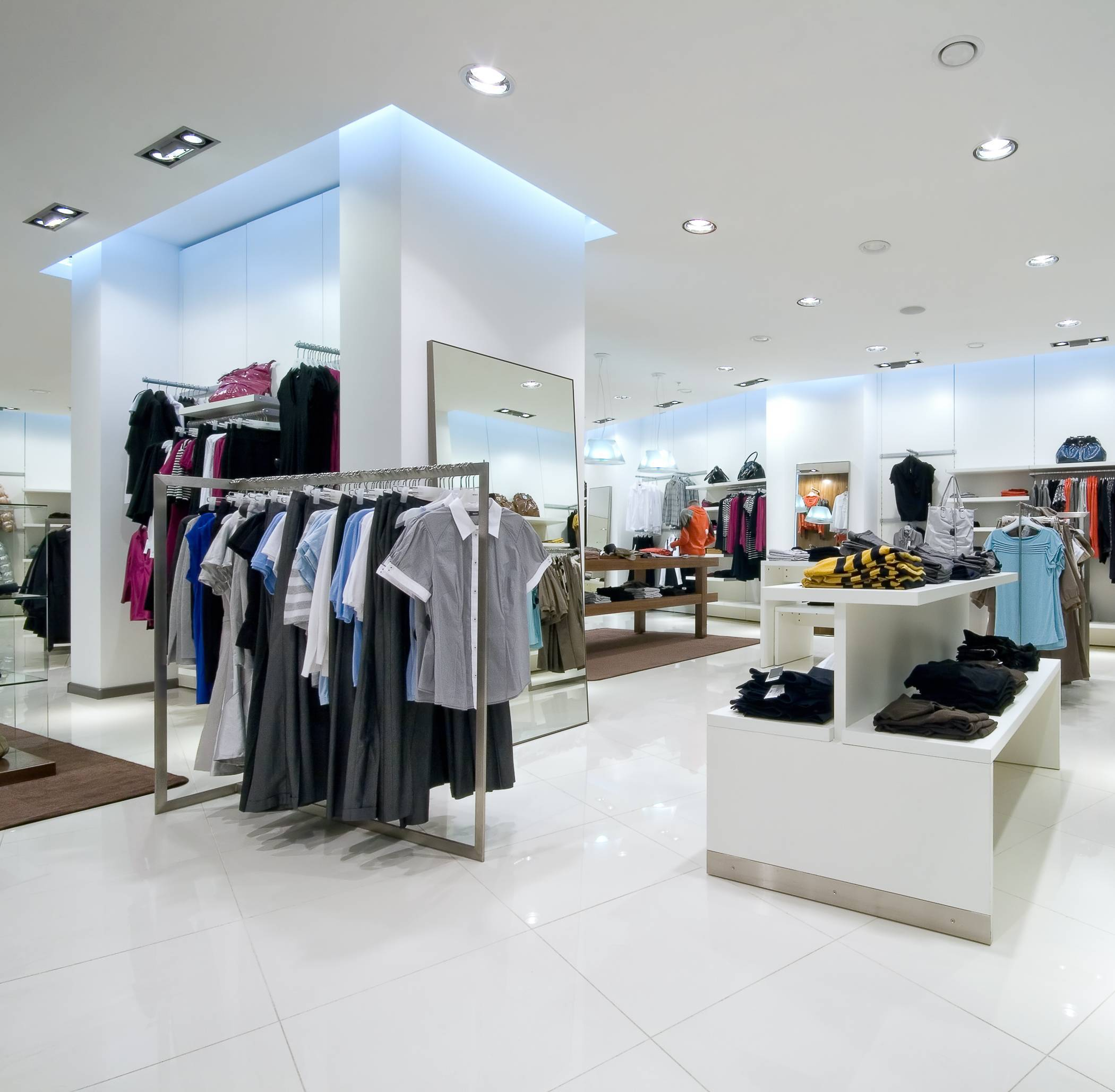 plafond magasin