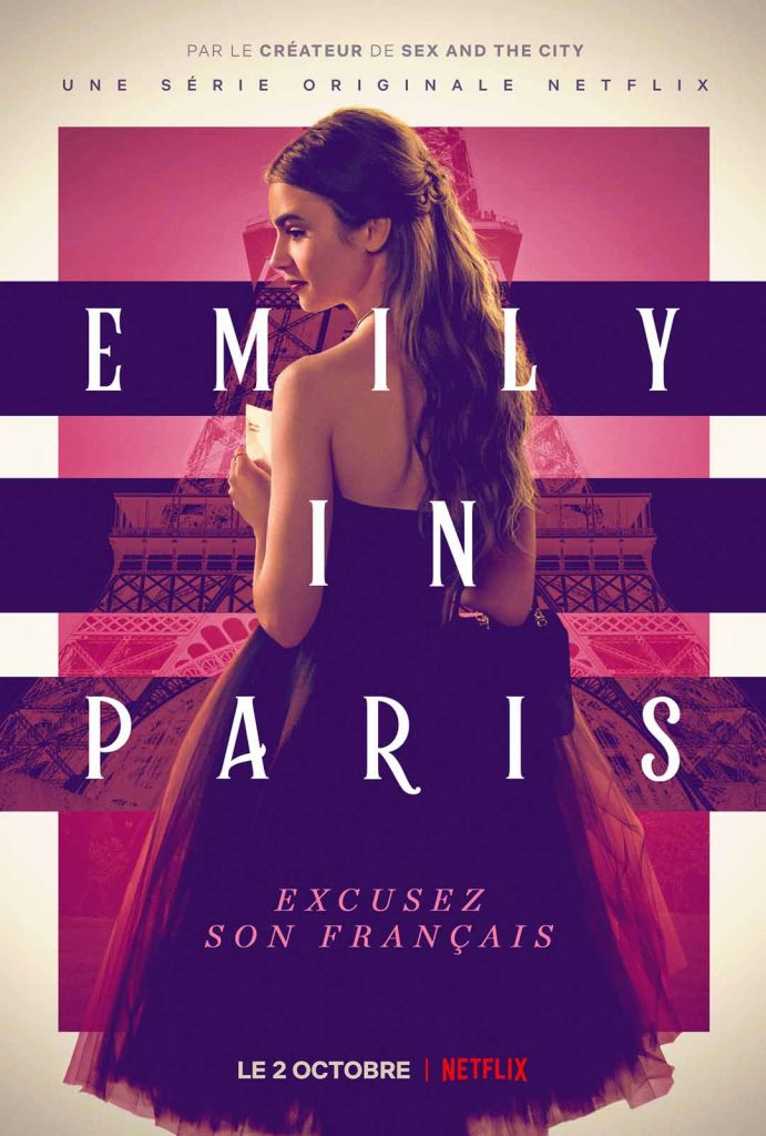 Emily in Paris : la nouvelle série girly de Netflix