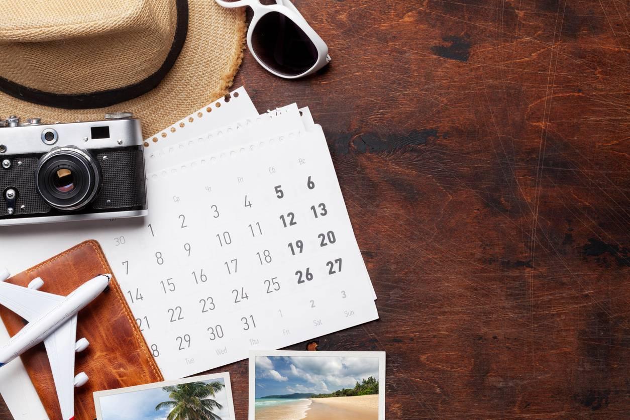 calendrier personnalisé avec vos photos de vacances