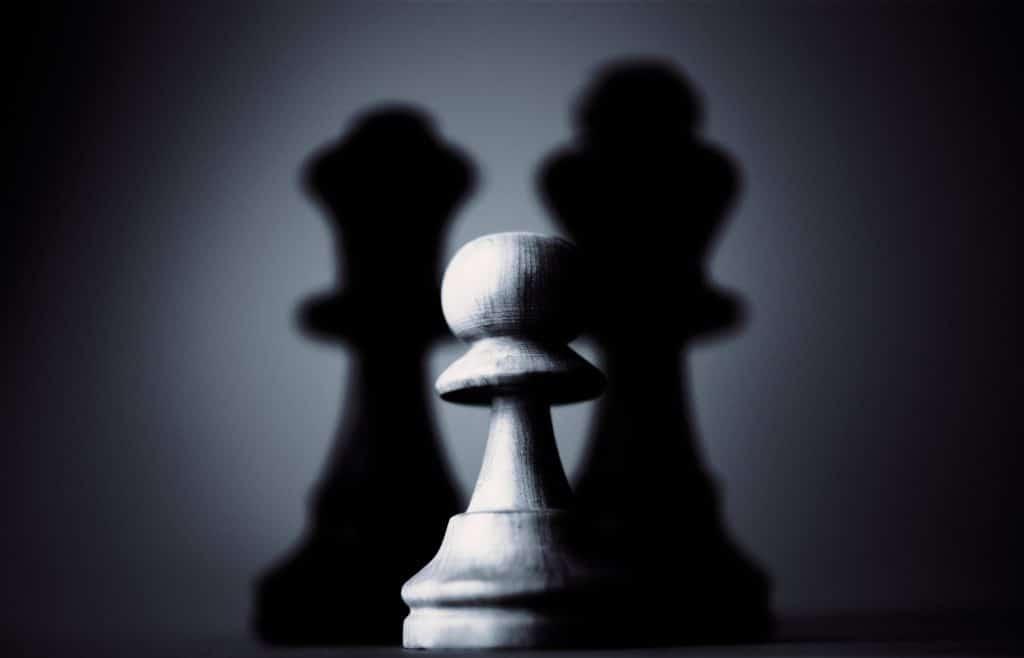 Les échecs avec le jeu de la dame