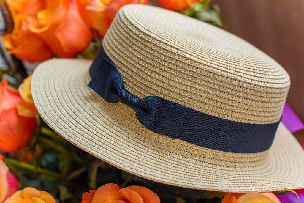 Le chapeau canotier