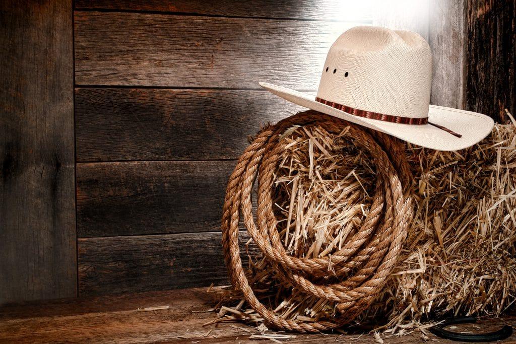 Le chapeau de cowboy