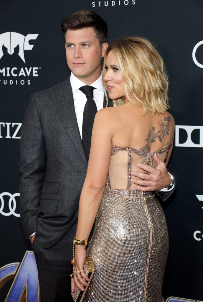 Scarlett Johansson s'est mariée avec Colin Jost