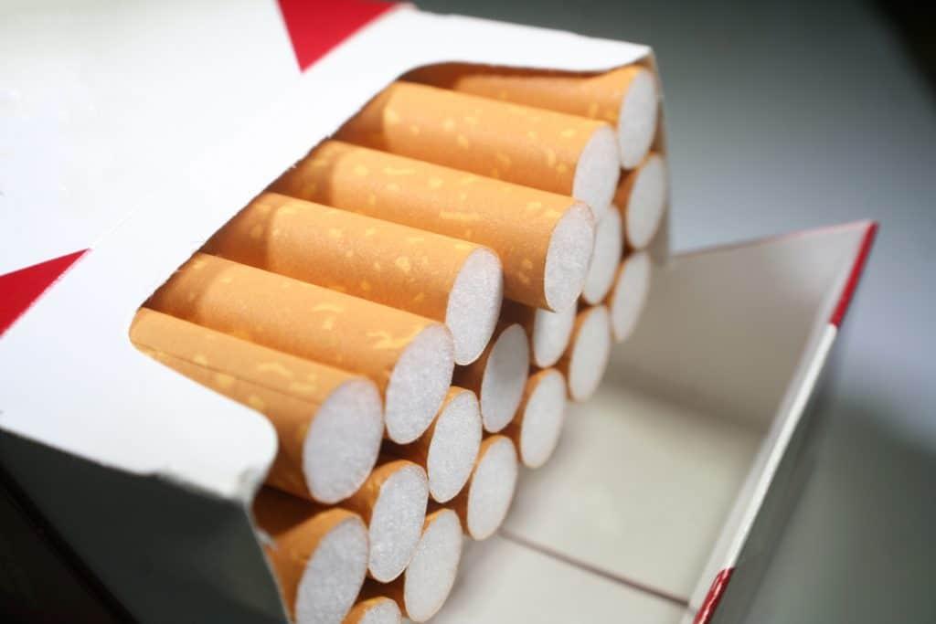Le prix du tabac