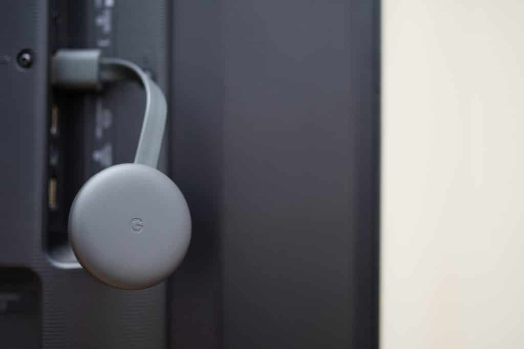 Comment réinitialiser Chromecast ?