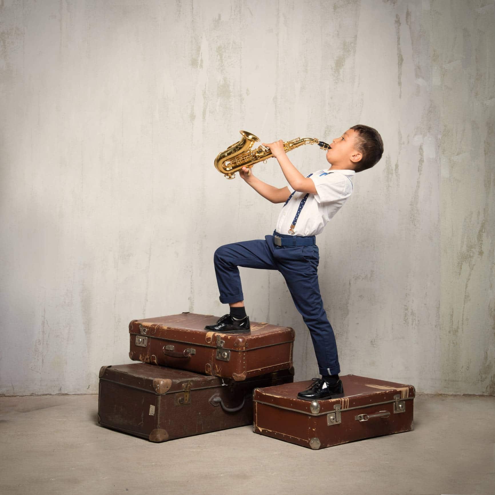 saxophone enfant