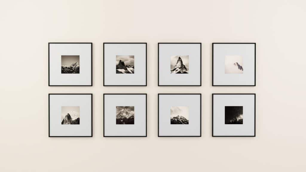 Comment réaliser une décoration murale photo avec ses photos de vacances ?