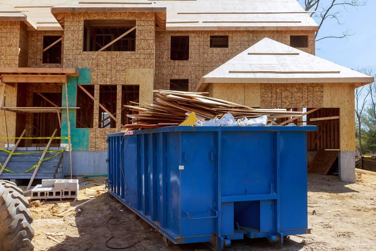 déchets rénovation maison